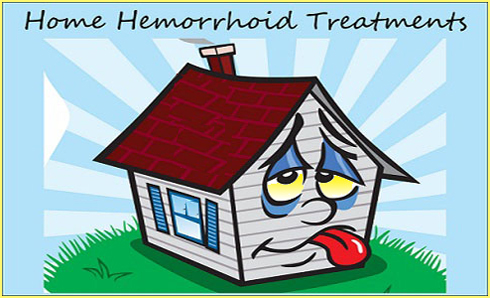 home hemorrhoid treatment information