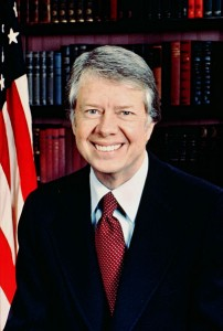 Hemorrhoids sufferer Jimmy Carter