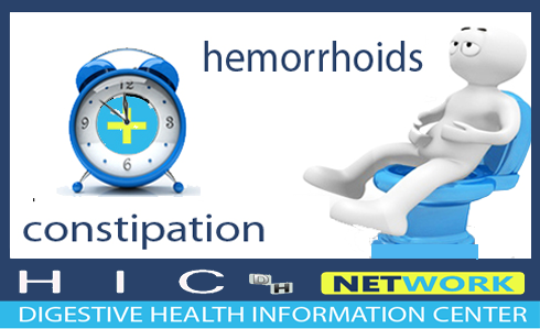 hemorrhoids and constipation