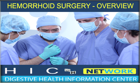 Hemorrhoid Surgery Explained