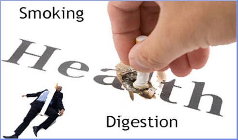 effects smoking  digestive