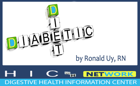 diabetic diet information from H.I.C. Digestive Health